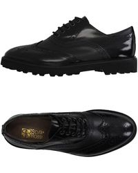 Silvia Rossi Lace-up Shoe - Black