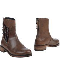 BOSS Orange - Ankle Boots - Lyst