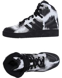 Jeremy Scott for adidas - Hightops Trainers - Lyst