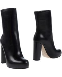 Theory Ankle Boots - Black