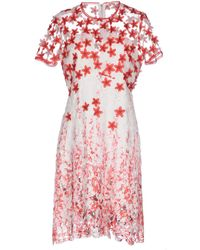 Elie Tahari Short Dress - Red