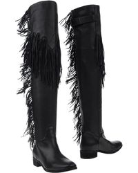 See By Chloé Over The Knee Boots - Black