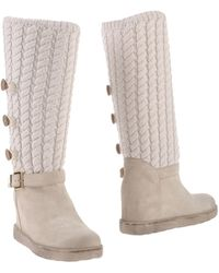 Twin Set Boots - Grey