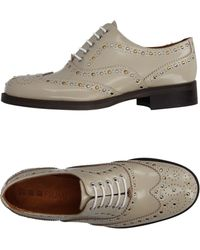 Piumi Lace-up Shoe - Natural