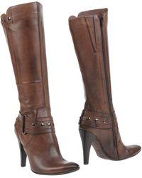 Lea Foscati Boots - Brown