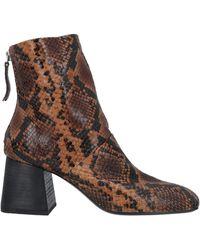 Vic Matié Ankle Boots - Brown