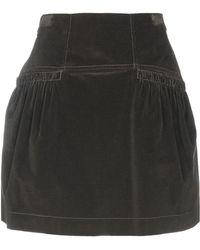 Alberta Ferretti Knee Length Skirt - Green