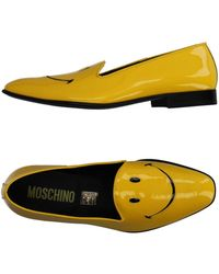 Moschino Moccasins - Yellow