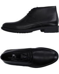 Lumberjack Lace-up Shoes - Black
