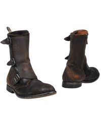 HTC Ankle Boots - Brown