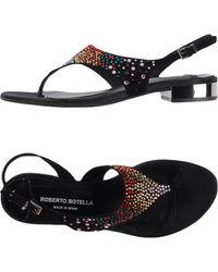 Roberto Botella - Thong Sandal - Lyst
