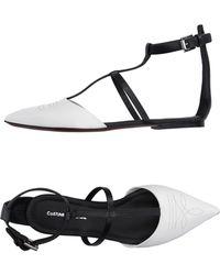 CoSTUME NATIONAL Sandals - White