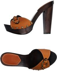 DSquared² Mules - Brown