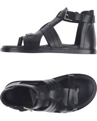 Dior Homme - Toe Strap Sandal - Lyst