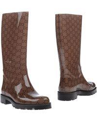 Gucci Boots - Natural