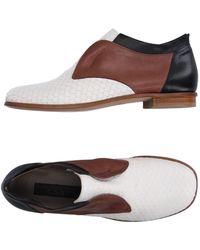 Malloni Loafer - White