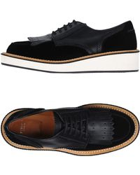 Givenchy Lace-up Shoe - Black
