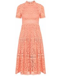 Raoul Knee-length Dress - Pink