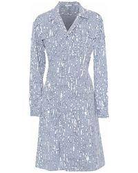 Tomas Maier Short Dress - Blue