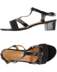 Jancovek Sandals - Black