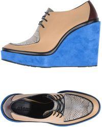 Jil Sander Lace-up Shoe - Blue