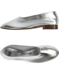 Martiniano Ballet Flats - Metallic