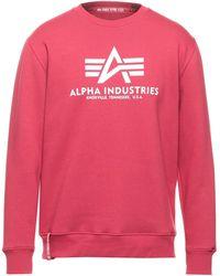 Alpha Industries Sweat-shirt - Rose