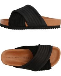 SELECTED - Slippers - Lyst
