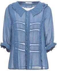 Sessun Camisa - Azul