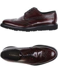 Canali Lace-up Shoe - Brown