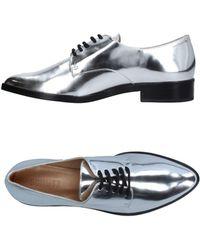Schutz Lace-up Shoe - Metallic