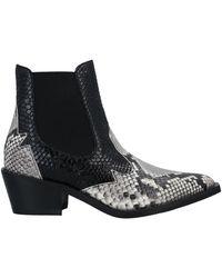 Laura Bellariva Ankle Boots - Grey
