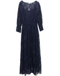 Massimo Rebecchi 3/4 Length Dress - Blue