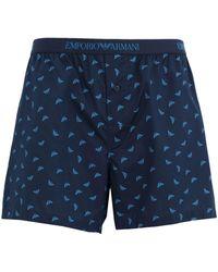 Emporio Armani Boxer - Blue