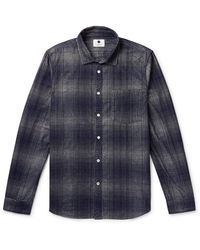 NN07 Shirt - Blue