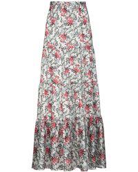 Silvian Heach Long Skirt - Natural