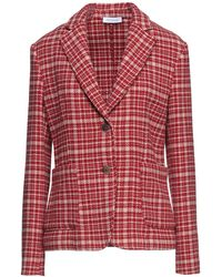 ROSSO35 Suit Jacket - Red