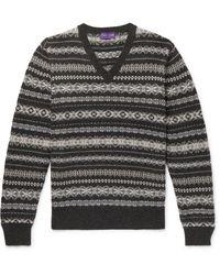 Ralph Lauren Purple Label Pullover - Multicolor