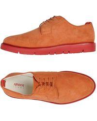Armani Jeans Sneakers - Orange