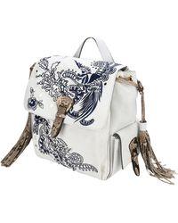 Roberto Cavalli Backpacks & Bum Bags - White