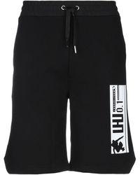 LHU URBAN Bermuda Shorts - Black