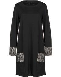 Brebis Noir - Short Dress - Lyst