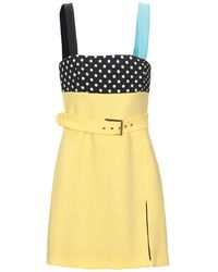 Emanuel Ungaro Short Dress - Yellow