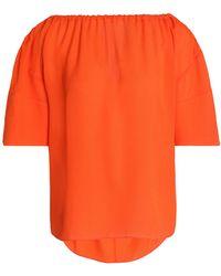 House of Dagmar Blouse - Orange