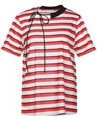 Marni Camiseta - Rojo