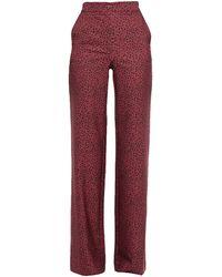 be Blumarine Pantalon - Rouge