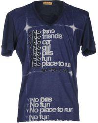 CoSTUME NATIONAL T-shirt - Blue