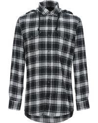 Grey Daniele Alessandrini Shirt - Black