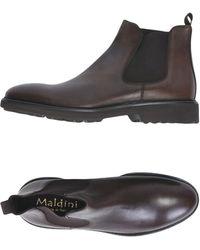 Maldini Ankle Boots - Brown