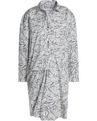 Chalayan Short Dress - Grey